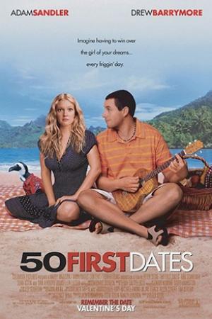 50 First Dates (2004) : 50 เดท จีบเธอไม่เคยจำ - Cover