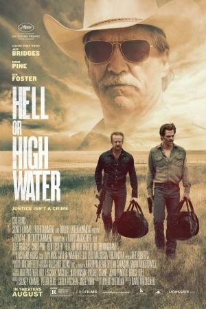 Hell Or High Water (2016) : ปล้นเดือด ล่าดุ - Cover