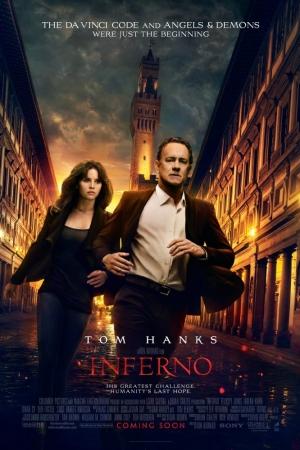 INFERNO (2016) : อินเฟอร์โน โลกันตนรก - Cover