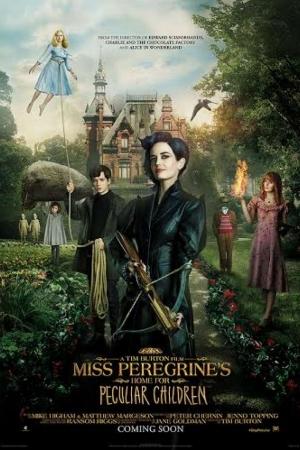 Miss Peregrine s Home for Peculiar Children (2016) : บ้านเพริกริน เด็กสุดมหัศจรรย์ - Cover