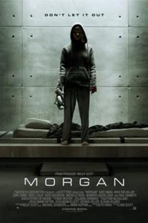 Morgan (2016) : มอร์แกน - Cover