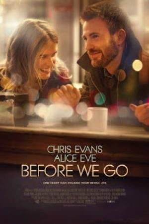 Before We Go (2014) : กิ๊กกั๊ก รักข้ามคืน - Cover