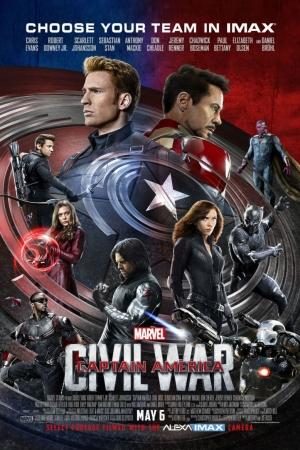 Captain America: Civil War (2016) : กัปตัน อเมริกา ศึกฮีโร่ 3 - Cover