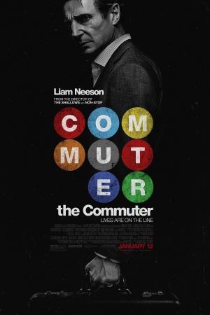 The Commuter (2018) : นรกใช้มาเกิด - Cover