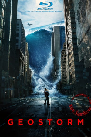 Geostorm (2017) : เมฆาถล่มโลก - Cover