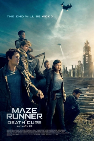 Maze Runner: The Death Cure (2018) : เมซ รันเนอร์ ไข้มรณะ - Cover
