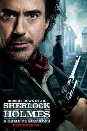 Sherlock Holmes A Game of Shadows เกมพญายมเงามรณะ - Cover