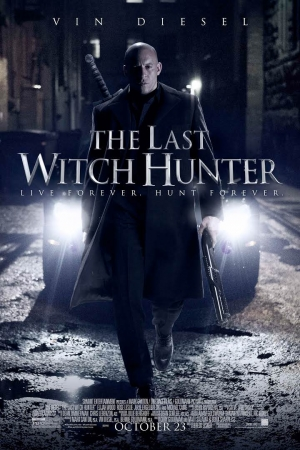The Last Witch Hunter (2015) : เพชฌฆาตแม่มด - Cover