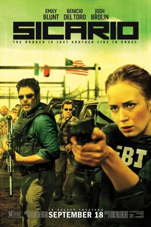 Sicario (2015) : ทีมพิฆาตทะลุแดนเดือด  - Cover