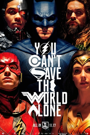 Justice League (2017) : จัสติซ ลีก - Cover