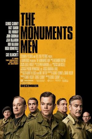 The Monuments Men (2014) กองทัพฉกขุมทรัพย์โลกสะท้าน - Cover