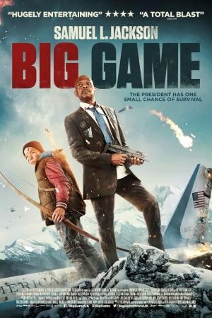 Big Game (2015) เกมล่าประธานาธิบดี  - Cover