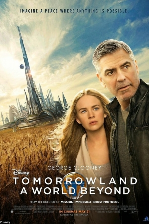Tomorrowland (2015) : ผจญแดนอนาคต - Cover