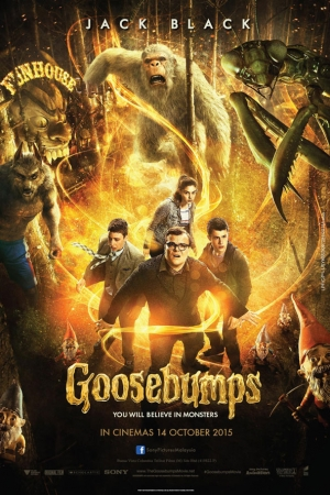 Goosebumps (2015) : คืนอัศจรรย์ขนหัวลุก - Cover