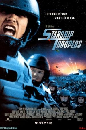 Starship Troopers (1997) ~ สงครามหมื่นขา ล่าล้างจักรวาล - Cover