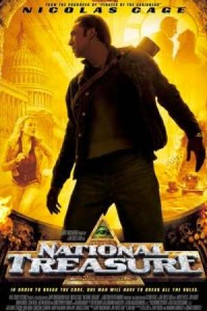 National Treasure 1 ปฎิบัติการเดือดล่าบันทึกสุดขอบโลก 1 - Cover