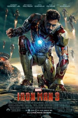 IRON MAN 3 (2013) มหาประลัยคนเกราะเหล็ก 3 - Cover