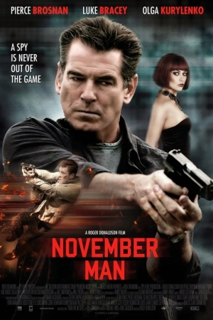 The November Man (2014) ~ พลิกเกมส์ฆ่า ล่าพยัคฆ์ร้าย - Cover