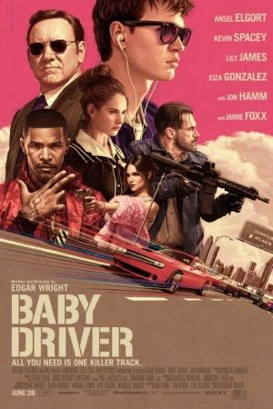 Baby Driver (2017) : จี้ เบบี้ ปล้น - Cover