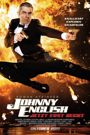 Johnny English Reborn (2011) : พยัคฆ์ร้าย ศูนย์ ศูนย์ ก๊าก สายลับกลับมาป่วน - Cover