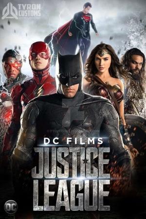 Justice League (2017):จัสติซ ลีก - Cover