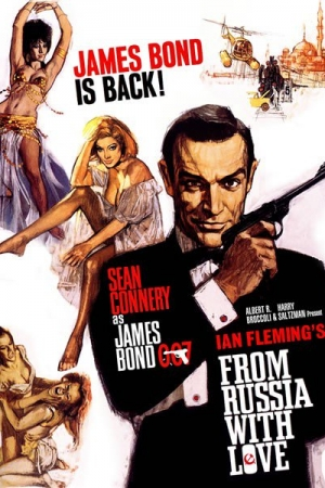 James Bond 007 From Russia With Love เพชฌฆาต 007 1963  - Cover