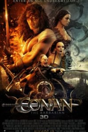 Conan the Barbarian โคแนน ยอดคนแดนเถื่อน  - Cover