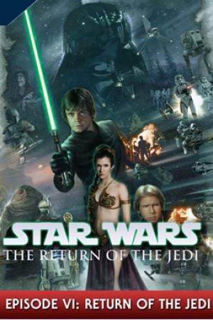 Star Wars Episode 6 Return of the Jedi สตาร์ วอร์ส ภาค 6 การกลับมาของเจได - Cover