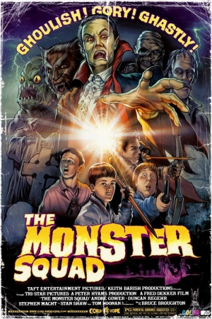 The Monster Squad แก๊งสู้ผี - Cover