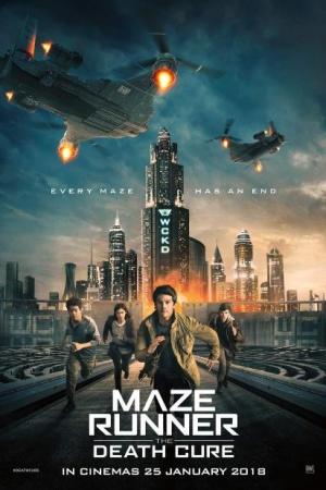 Maze Runner: The Death Cure (2018) เมซ รันเนอร์ ไข้มรณะ - Cover