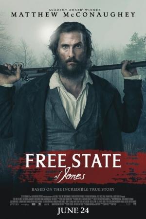 Free State of Jones - จอมคนล้างแผ่นดิน - Cover