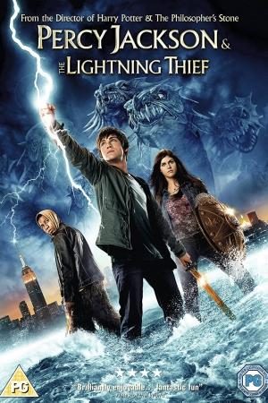 Percy Jackson & the Olympians: The Lightning Thief : เพอร์ซี่ย์ แจ็คสัน กับสายฟ้าที่หายไป  - Cover