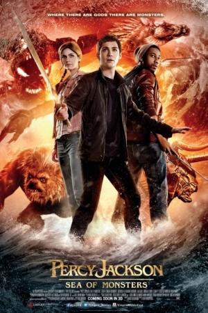 Percy Jackson: Sea of Monsters (2013) เพอร์ซีย์ แจ็กสัน กับ อาถรรพ์ทะเลปีศาจ - Cover