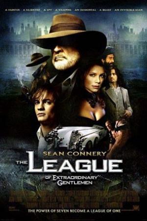 The League of Extraordinary Gentlemen เดอะ ลีค มหัศจรรย์ชน คนพิทักษ์โลก (2003) - Cover