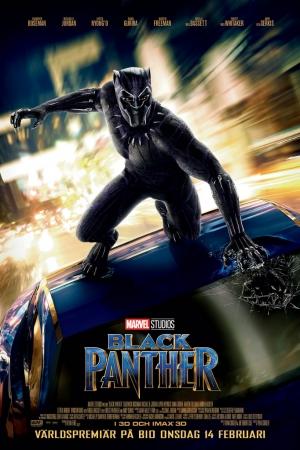 Black Panther (2018):แบล็ค แพนเธอร์ HD พากย์ไทย - Cover