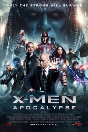 X-MEN: APOCALYPSE เอ็กซ์เม็น อะพอคคาลิปส์ (2016) - Cover