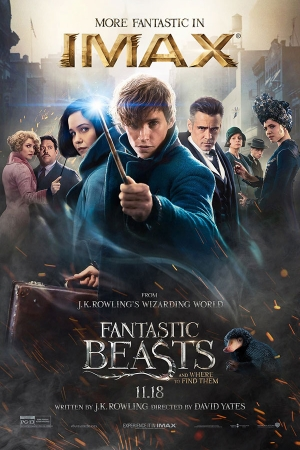 Fantastic Beasts and Where to Find Them (2016)  : สัตว์มหัศจรรย์และถิ่นที่อยู่  - Cover