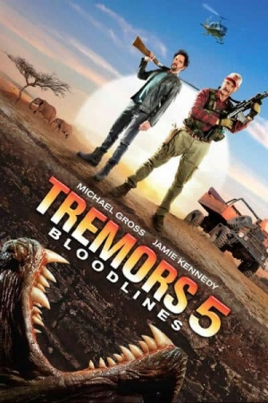 Tremors 5: Bloodline (2015) : ทูตนรกล้านปี ภาค 5  - Cover