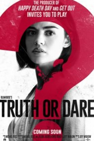 Truth or Dare 2018 : จริงหรือกล้า เกมสยองท้าตาย HD พากย์ไทยชนโรง2.1 - Cover