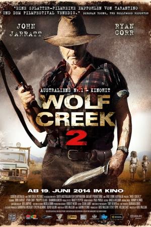 Wolf Creek Duology 2013 - หุบเขาสยองหวีดมรณะ 2 - Cover