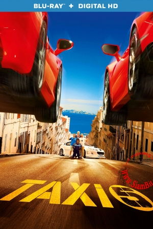 Taxi 5 (2018) : โคตรแท็กซี่ขับระเบิด  - Cover