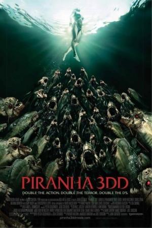 Piranha 3D 2012 ปิรันย่า กัดแหลกแหวกทะลุ ภาค 2 - Cover