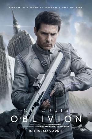 Oblivion 2013 อุบัติการณ์โลกลืม - Cover