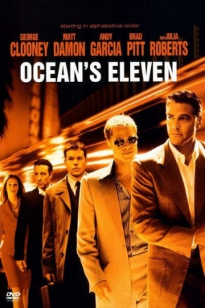 Ocean`s Eleven 11 2001 คนเหนือเมฆปล้นลอกคราบเมือง  - Cover