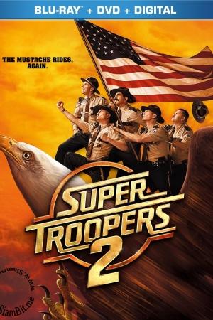 Super Troopers 2 2018 : ซุปเปอร์ ทรูปเปอร์ 2 - Cover