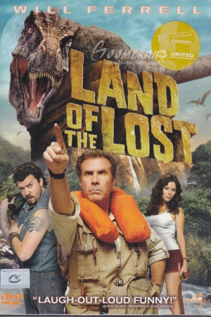 Land Of The Lost 2009 ข้ามมิติตะลุยแดนมหัศจรรย์ - Cover