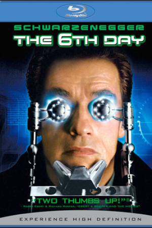 The 6th Day 2000 เดอะ ซิกซ์เดย์ วันล่าคนเหล็ก อหังการ - Cover