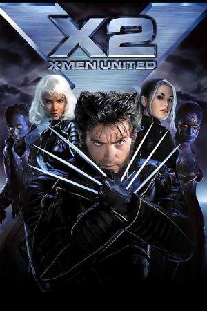 X-MEN 2 ศึกมนุษย์พลังเหนือโลก ภาค 2 2003 - Cover