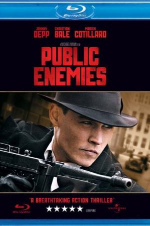 Public Enemies วีรบุรุษปล้นสะท้านเมือง - Cover