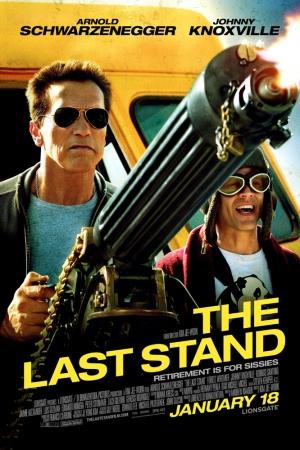 The Last Stand 2013 นายอำเภอคนพันธุ์เหล็ก - Cover